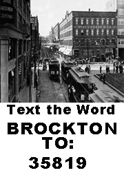 Text Brockton to 35819